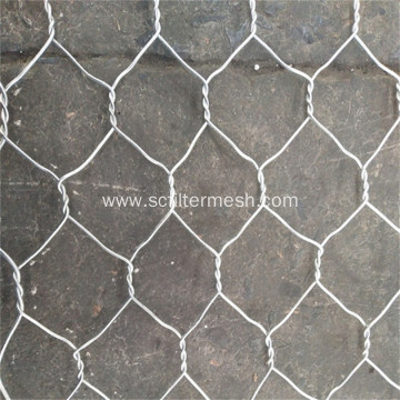 PVC Coated Gray Heavy Hexagonal Wire Mesh